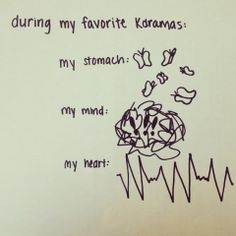 Kdramas- Sometimes I need a brake from all the anxiety I get! >.< LOL