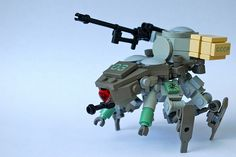 Ghost In The Shell Mecha In Lego
