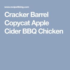 This autumnal dish is sure to bring together the flavors of fall. Bbq Chicken, Chicken Recipes, Make Your Own Crackers, Pecan Crusted Chicken, Apple Chutney, Barbeque Sauce, Fresh Apples, Roasted Carrots, Copycat Recipes