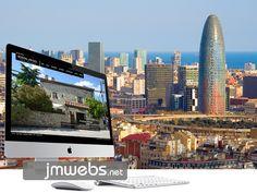 Ofrecemos nuestro servicio de diseño de páginas web en Barcelona. Diseño web personalizado y a medida. Más información www.jmwebs.net o Teléfono 935160047