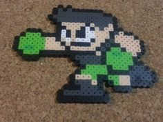 Little Mac Bead Sprite  Super Smash Brothers  by DCBPerlerSprites