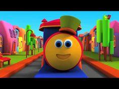Aprende el Abecedario con Bob el Tren - Vídeo infantil en Español - YouTube