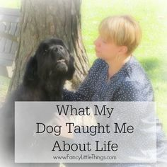 What My Dog Taught Me About Life | http://fancylittlethings.com/2014/10/what-my-dog-taught-me-about-life/