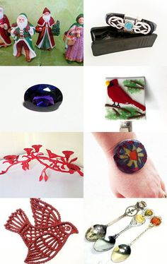 Christmas-Delivered Gifts to Family and Friends Team Vintage USA by Wine Charmers and More on Etsy--Pinned with TreasuryPin.com