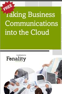 """As a business owner, when you hear about moving your phone system to the cloud, what is your first reaction? Do you think it sounds interesting, but it's not for your business? Check out this eBook, """"Taking Business Communications to the Cloud""""."""