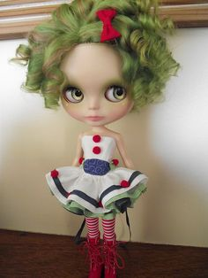 Love this darling custom girl by Nicole (Angel~Lily). Not sure who designed the outfit, but I <3 it!!