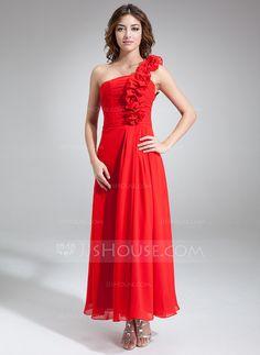 Bridesmaid Dresses - $112.99 - A-Line/Princess One-Shoulder Ankle-Length Chiffon Bridesmaid Dress With Ruffle (007016834) http://jjshouse.com/A-Line-Princess-One-Shoulder-Ankle-Length-Chiffon-Bridesmaid-Dress-With-Ruffle-007016834-g16834?ver=xdegc7h0