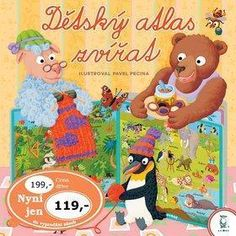 atlas zvirat kniha pro deti