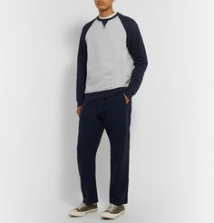 Norse Projects Ketel Loopback Cotton-jersey Sweatshirt In Blue Norse Projects, Normcore, Mens Fashion, Sweatshirts, Sleeves, T Shirt, Cotton, Pants, Blue