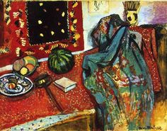 Still Life with a Red Rug  - Henri Matisse, 1906