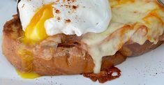 Chef John's Monte Cristo Benedict Breakfast Lasagna, What's For Breakfast, Breakfast Dishes, Breakfast Casserole, Breakfast Recipes, Egg Recipes, Brunch Recipes, Cooking Recipes, Brunch Ideas