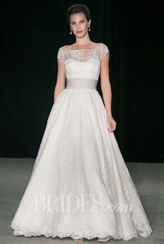 Anne Barge Wedding Dresses Fall 2014 Bridal Runway Shows | Wedding Dresses Style | Brides.com