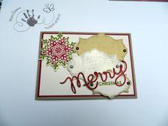 Weihnachtskarte, Stampin Up!