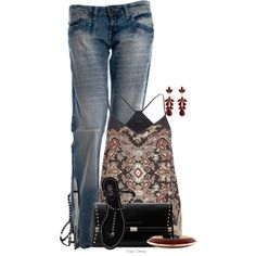 """""""Summer Night Out"""" by madamedeveria on Polyvore"""