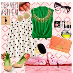 """""""Summer Anthem"""" by chivie81 on Polyvore"""