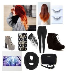 """""""when it's cold tho"""" by prettyinwhatever ❤ liked on Polyvore"""