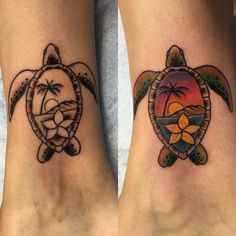 Sea turtle done in Maui! Inspiration for mom