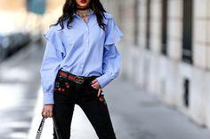 Los olanes invaden la moda en 7 piezas clave - EN LAS CAMISAS | Galería de fotos 1 de 7 | Glamour Mexico