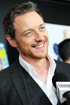 James McAvoy...love those silver hair :-)