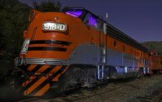 Night Train… The ol' F7 | Flickr - Photo Sharing!