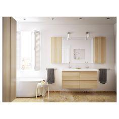 IKEA - BRÅVIKEN Double bowl sink white