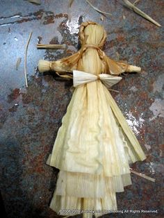 How To Make Your Very Own Corn Husk Doll