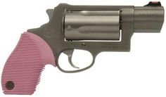 The Taurus Judge Public Defender <3 Gotta protect yourself honey! Hand gun I am thinking about buying <3