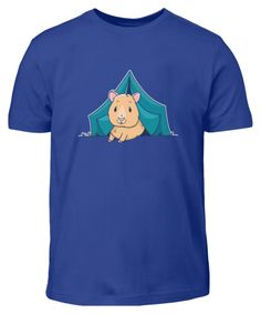 Meerschweinchen im Zelt beim Camping | Kinder T-Shirt - camping-macht-gluecklich.myshopify.com – Cool Camping Basic Shirts, Cool Stuff, Mens Tops, Fictional Characters, Gifts For Campers, Guinea Pigs, Outdoor Camping, Fantasy Characters