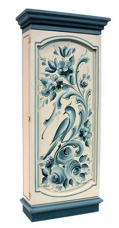 Dutch Hindeloopen armoire