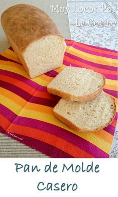 Pan de Molde Casero: Textura y sabor similares al pan de molde industrial pero mucho más sano Food N, Food And Drink, Chilean Recipes, Chilean Food, Pan Bread, Bread Rolls, Sin Gluten, Cornbread, Baked Goods