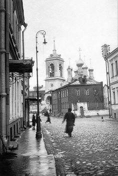 УНИКАЛЬНЫЕ ФОТОГРАФИИ ДОРЕВОЛЮЦИОННОЙ МОСКВЫ 1-й Смоленский переулок, 1915