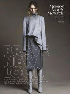 Brave New Look   Nicole Bentley #photography   Vogue Australia August 2012