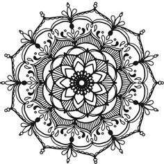 This beautiful mandala is perfect for any ornate project! This is an intricate cut file. Wood Burning Stencils, Wood Burning Patterns, Mandala Pattern, Mandala Design, Dot Painting, Painting Patterns, Bohemian Pattern, Silhouette Design, Silhouette Files
