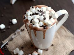 Skinny Crock Pot Hot Cocoa