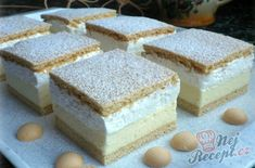 New Easy Cake : Simple recipe for cheese sticks Kremes Recipe, Cheese Sticks Recipe, Cookie Recipes, Dessert Recipes, Flan Cake, Waffle Cake, Traditional Cakes, Hungarian Recipes, Homemade Cakes