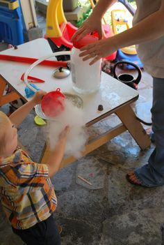 Alien Bubbles! These are so cool - we love combining fun with science.