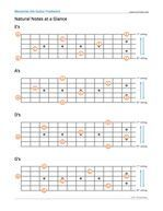 Memorize the Guitar Fretboard Neck Diagrams