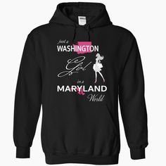 WASHINGTON GIRL IN MARYLAND WORLD, Order HERE ==> https://www.sunfrog.com/LifeStyle/WASHINGTON_MARYLAND-Black-76593261-Hoodie.html?89701, Please tag & share with your friends who would love it , #christmasgifts #renegadelife #superbowl