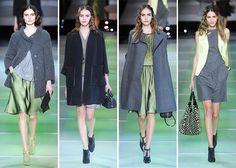Giorgio Armani Fall/Winter 2014-2015 Collection - Milan Fashion Week  #MilanFashionWeek #MFW #fashionweek