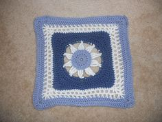 "Ravelry: Project Gallery for Blooming Lace - 12"" Square pattern by Melinda Miller"