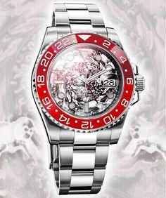 Watch What-If: Rolex GMT Year of the Monkey by Designer Niklas Bergenstjerna. niklex.com