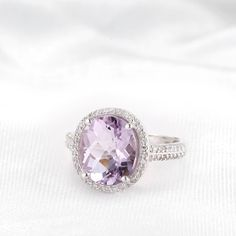 Enter to a Genuine Pink Amethyst & Diamond Ring! Amethyst And Diamond Ring, Pink Amethyst, Diamond Rings, Ruby Rings, Crossed Fingers, Love Ring, Shopping Spree, Beautiful Earrings, Ring Designs
