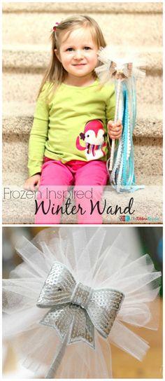 Frozen Inspired Winter Wand - The Ribbon Retreat Blog