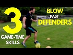 How To: 3 SOCCER MOVES For BEGINNERS - YouTube