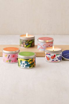 Illustrated Packaging for Urban Outfitters scented candle by Holly Wales