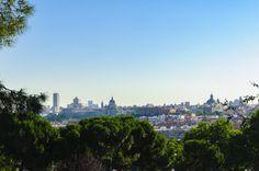 📷 @jlajaus 2017. Madrid, desde el parque de San Isidro