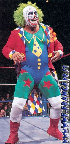 Doink the Clown Real Name: Matt Osbourne Hometown: 'Parts Unknown' Weight: 243Ibs