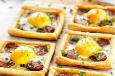 Baked Egg Bell Pepper Tarts New Ways to Go Meatless on Monday