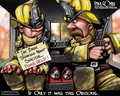 Paul Combs talks about suicide prevention @ www.fireengineering.com