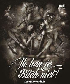 Grafisch ontwerp van Dutchaholic voor BKJN Events. Artwork - Sexy dames - Effect - Event  #sexy #graphic #Design